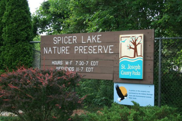 Spicer Lake Nature Preserve, New Carlisle, IN